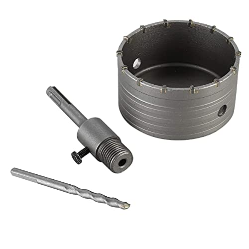 Hollow Core Bit Set 68mm Hole Saw Drill Bit with Sds Plus Adapter 110mm,...