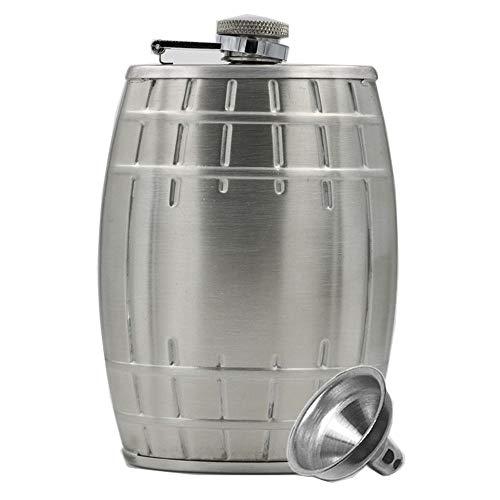 Battitachil Hip Flasks 6 oz roestvrij staal met trechter, discrete schot drinken van alcohol, Whiskey, Rum en wodka, voor mannen en vrouwen goede buitenactiviteiten