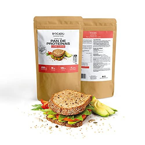 Bocado Functional Foods - Mezcla para Pan de Proteínas 1kg