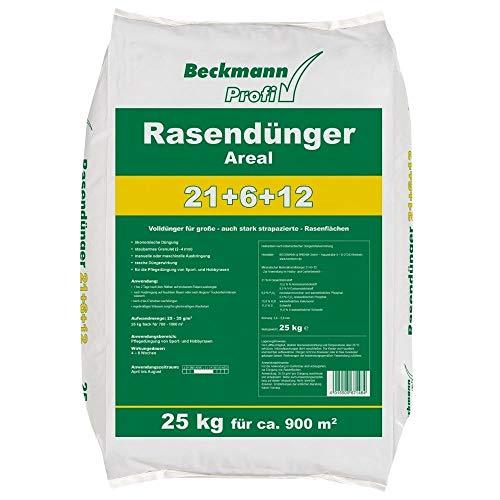 Beckmann Profi Rasendünger Areal 21+6+12, 25 kg