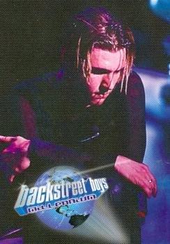 Nick Carter trading card Backstreet Boys 2000 WL #3 Millenium