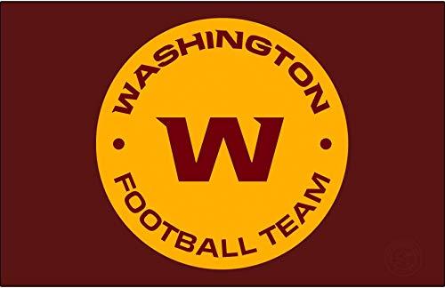 Washington Football Team Logo Flag 3x5- With Grommets