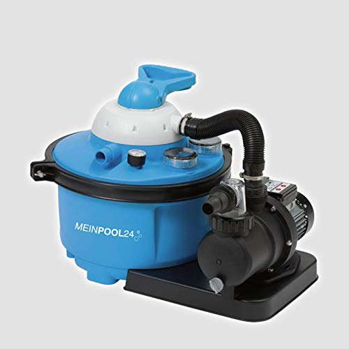 MEINPOOL24.DE Filteranlage Speed Clean Comfort 50 Poolfilter Sandfilter für Pools bis 33.000 Liter