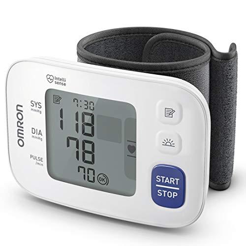 Omron HEM 6181 Fully Automatic Wrist Blood Pressure Monitor with Intelligence Technology, Cuff...
