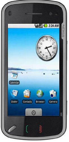 Nokia N97 mini - Teléfono Móvil Libre - Negro (teclado QWERTY)