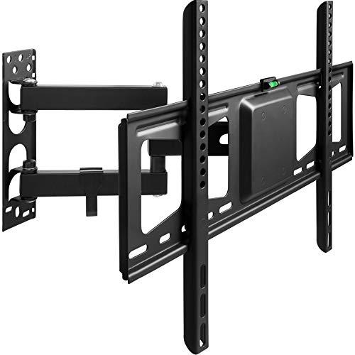 TecTake Soporte de Pared para TV de Pantalla Planta, inclinable y Giratorio VESA máx. 600x400   81-152 cm (32' - 60')