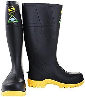 Bata Safemate Non-Slip Steel Toe Gumboots Black UK11