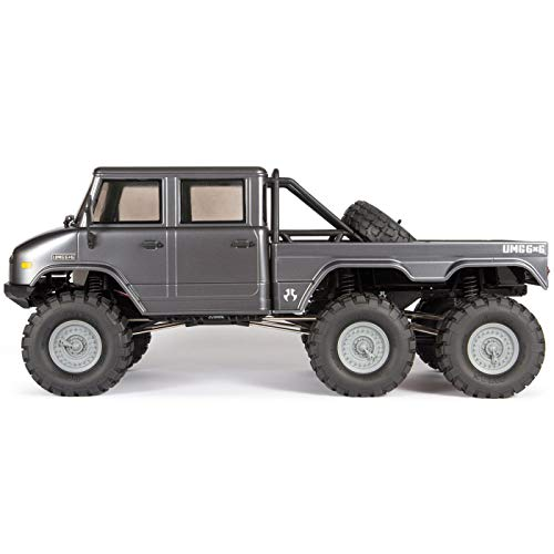 Axial SCX10 II UMG10 6x6 RC Rock Crawler RTR with 2.4Ghz Radio System (Battery and Charger Not Included): 1/10 Scale, AXI03002