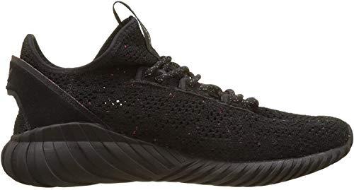 adidas Herren Tubular Doom Sock PK Gymnastikschuhe, Schwarz (Core Black/core Black/Trace Olive F17), 42 2/3 EU