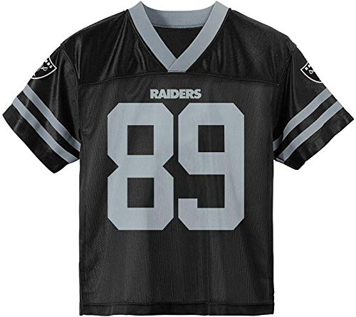 Amari Cooper Oakland Raiders #89 Black Youth Player Home Jersey (Large 14/16)