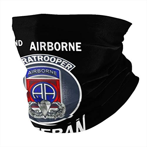 82nd Airborne Paratrooper Veteran1 Unisex multifunctional seamless neck scarf headscarf face mask mask dustproof and sunscreen soft texture