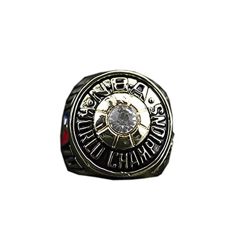 WSTYY NBA 1970 New York Knicks Championship Ring Anillos de Hombre, Championship Anillo de réplica Personalizado Anillos de Diamantes para Hombres,Without Box,11#