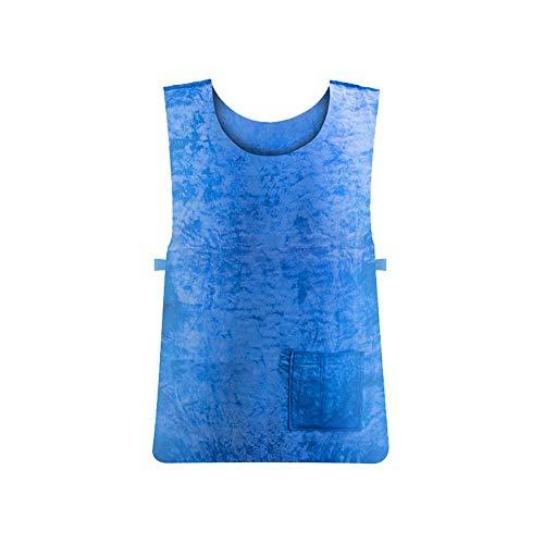Sommer-EIS-Kühlweste, Sonnenstich-Verhinderung-Kühlweste, Hochtemperaturschutzkleidung für Tätigkeiten im Freien für Männer und Frauen