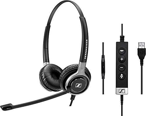 Sennheiser SC 665 - Auriculares de Diadema con micrófono de cancelación de Ruido