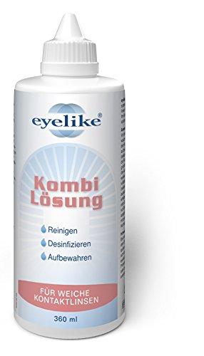 Eyelike Kombilösung 6x 360ml für Weiche Kontaktlinsen