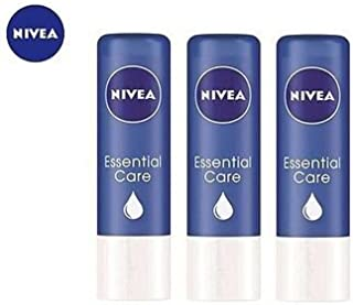 Nivea Essential Care Lip Balm Pack of 3
