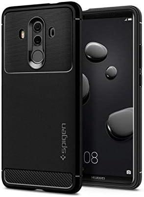Spigen Coque Huawei Mate 10 Pro [Rugged Armor] Antichoc, Souple TPU, Fibre de Carbone Resistant, Coque Etui Housse Compatible avec Huawei Mate 10 Pro ...