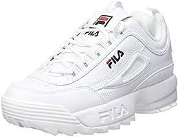 FILA Unisex barn Disruptor Kids sneakers, Vit - vit - 32 EU