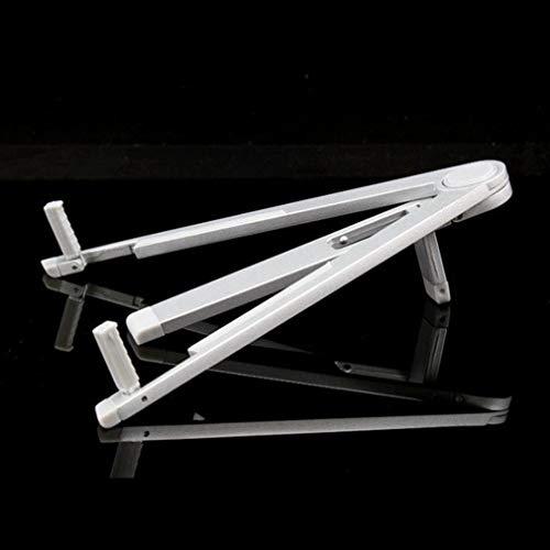 JIAHUI Trípode plegable antideslizante Tablet Holder Stand Soporte de aleación de aluminio Soporte Tablet Notebook Computer