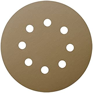 Tigershark 5 Inch Sanding Discs 8 Hole Grit 400 5pcs Pack Special Anti Clog Coating Paper..
