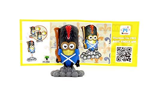 Napoleon Minion mit blauer Hose + Beipackzettel. Ü-Eier Variante (Die MINIONS)