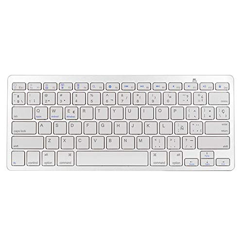 Yi-xir fashion design Universal Spanish Layout bluetooth Keyboard For Careful service