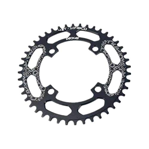 Pathpark 104BCD Bicycle Chainring, 40T 42T 44T 46T 48T 50T 52T Round...