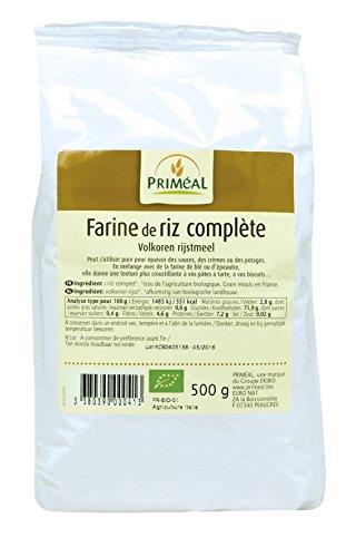 Priméal Farine de Riz Complet France 500 g