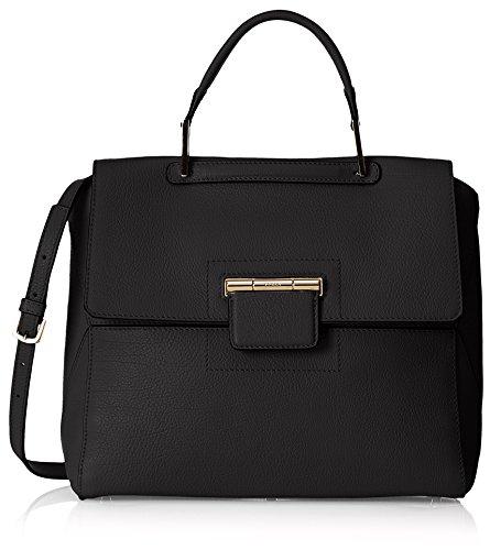 Furla Women#039s Artesia M Top Handle TopHandle Bag Black Onyx