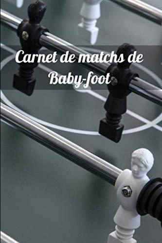 Carnet de matchs de Baby-foot