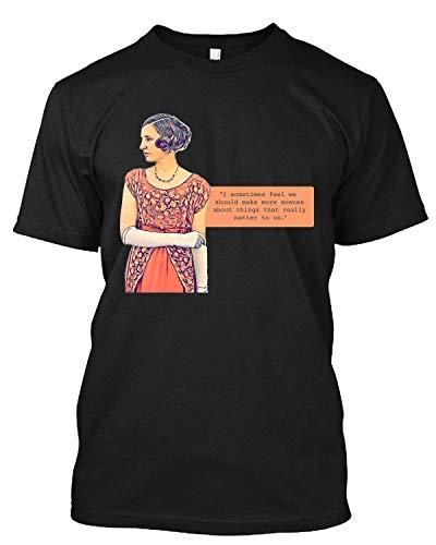 Lady Edith Make A Scene Downton Abbey T Shirt Gift Tee for Men Women