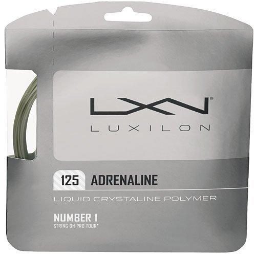 Luxilon Adrenaline 125 16L Tennis String Set by