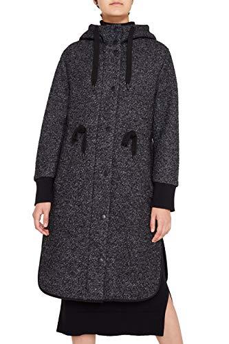edc by Esprit 119CC1G005 Abrigo, Gris (Medium Grey 035), XL para Mujer