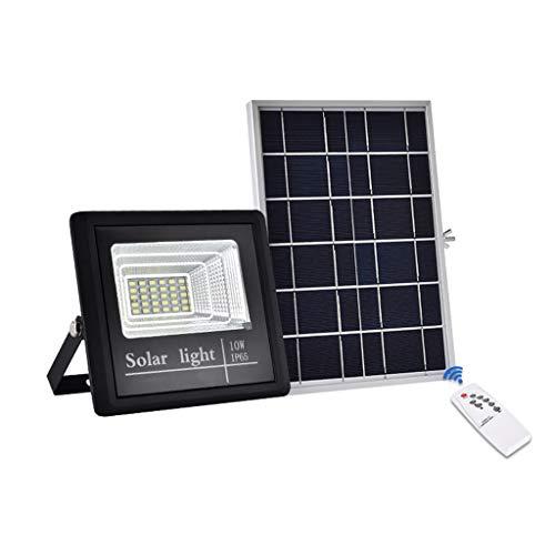 Chy zonne-energie, 10 W, waterdicht, voor gebruik buitenshuis met afstandsbediening, Yard Garage huis veranda zwembad
