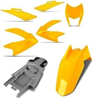 Kit Carenagem Completa Nxr Bros 150 Laranja 2010 Pro Tork