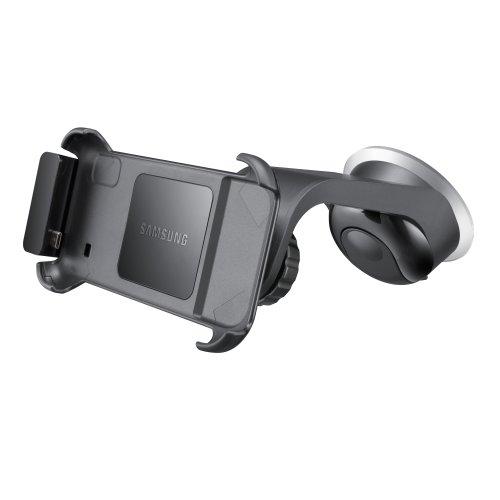 Samsung originele autohouder incl. oplader/apparaathouder en zuigvoet ECS-V968BEGSTD (compatibel met Galaxy S i9000 en i9001) in zwart