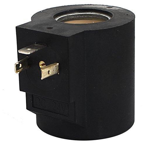 DC 24V 23mm Dia Core neumática de control de aire bobina de la electroválvula