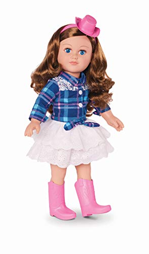 myLife Brand Products My Life As Poseable 18' Cowgirl Doll - Brunette