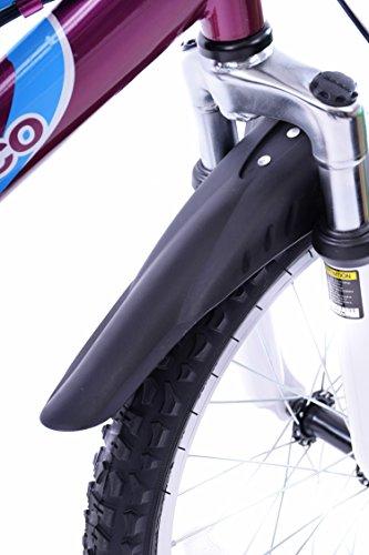 AMMACO CHILDRENS KIDS BIKE BICYCLE MUDGUARDS SPLASHGUARDS - TO FIT 14