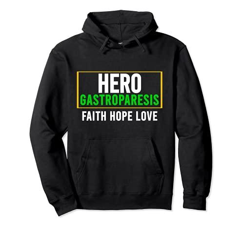 Camisa de conciencia gastroparesia - Héroe de conciencia de la gastroparesia Sudadera con Capucha