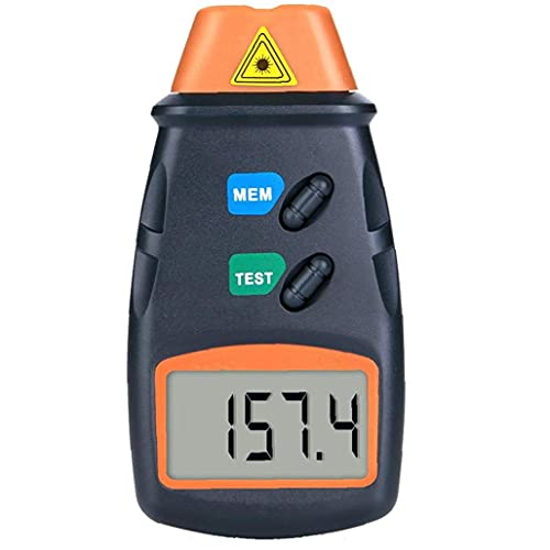 Tuimiyisou tacómetro del Motor del tacómetro LCD Horas de inducción Metros Motocicleta Contador de Horas de tacómetro