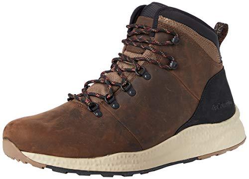 Columbia Men's Sh/Ft Wp Hiker' Trail Running Shoe, Espresso Ii Red Jasper,...