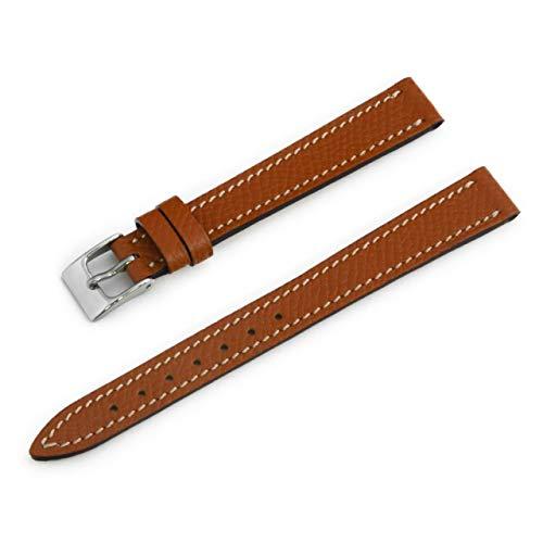 CASSIS[カシス] カーフ 時計ベルト BREST ブレスト 12mm ゴールドブラウン 交換用工具付き D1088500041012