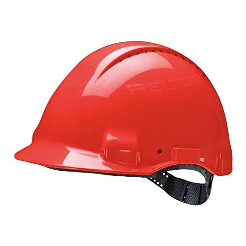 3M Peltor G30CUR Casco de Seguridad, 1 Casco/Caja, Rojo