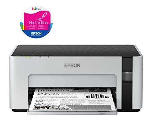 Epson EcoTank ET-M1120 Mono Inkjet Wi-Fi Printer with Refillable Ink Tank