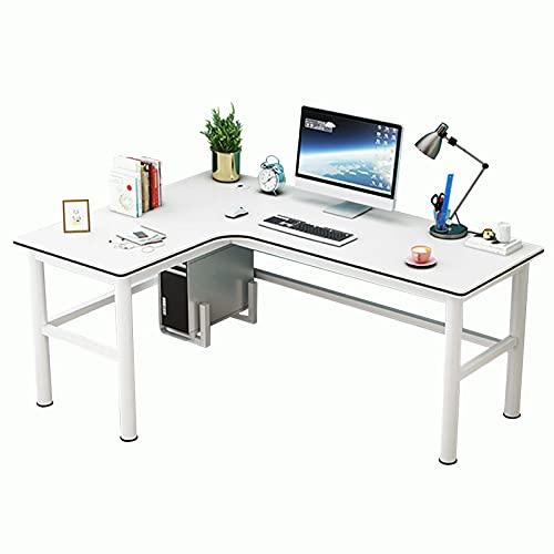 Escritorio de esquina,Escritorio en Forma de L Escritorio Esquina Mesas Gaming Mesa Esquina, L Mesa Escritorio de la computadora, Ordenador Portátil para PC Estación de Trabajo de Estudio Mesa de Es