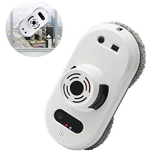 YBG Aspirapolvere Robot, Lavavetri Magnetici, Tecnologia Wireless App Pulizia all'Interno E all'Esterno Dell'Alta Finestra, con Telecomando, 5600 Pa Super Forte Assorbimento