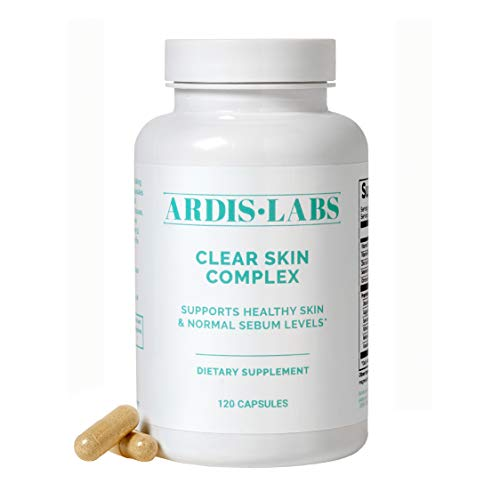 Ardis Clear Skin Complex - Supports Healthy Skin & Normal Sebum Levels - (120 Count / 1 Month Supply)