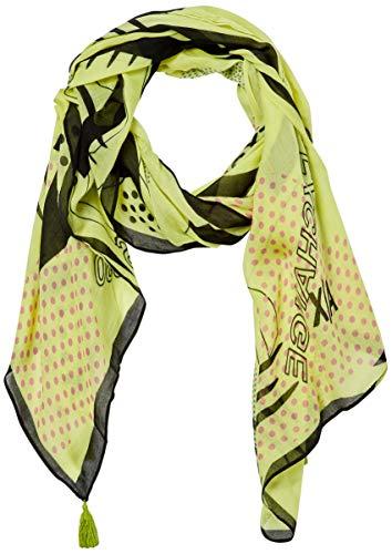 Armani Exchange AX Damen Spring Armani Logo Printed Viscose Scarf Modischer Schal, Peridot, Einheitsgröße