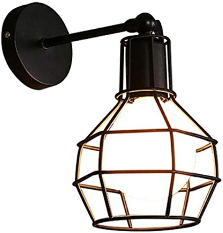 Wandleuchte LED Wandlampe American Retro Wandleuchte Abdeckungslicht aus Metall